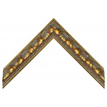 Деревянный багет Золото 272.44.043