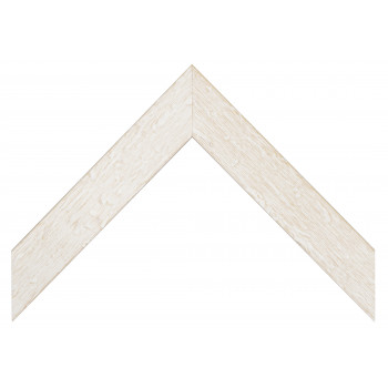 Деревянный багет Белый 335.43.048