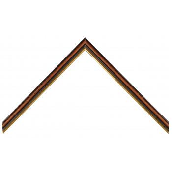 Деревянный багет Коричневый 358.23.087