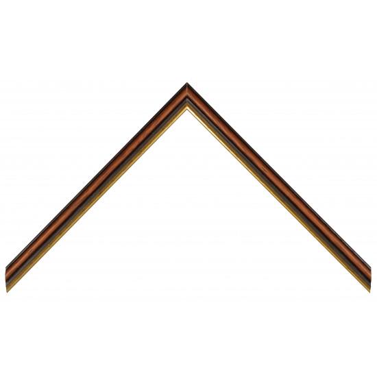 Деревянный багет Коричневый 358.23.087 в интернет-магазине ROSESTAR фото