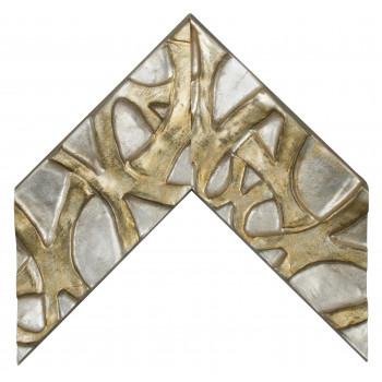 Деревянный багет Серебро 391.44.044