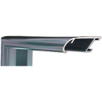 Алюминиевый багет голубое олово блестящий 43-18