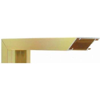 Алюминиевый багет золото блестящий 44-13
