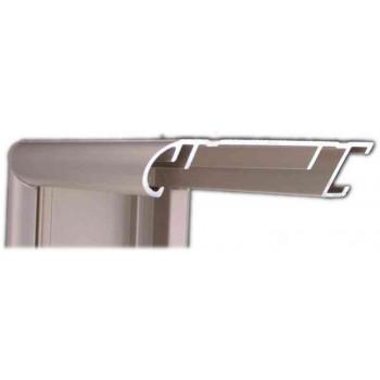 Алюминиевый багет старинное олово матовый 58-23