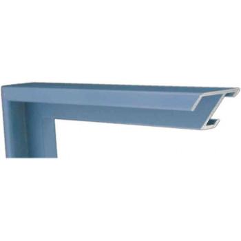 Алюминиевый багет голубой 84-44
