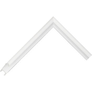 Алюминиевый багет белый глянцевый 86-102