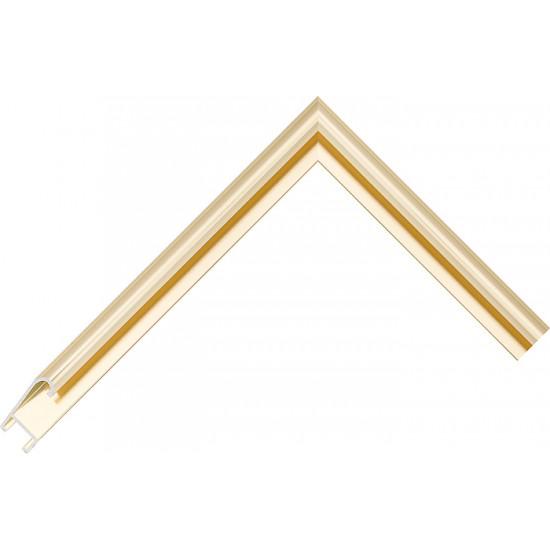 Алюминиевый багет золото блестящий 86-13 в интернет-магазине ROSESTAR фото