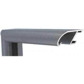 Алюминиевый багет стерлинг металлик 89-302