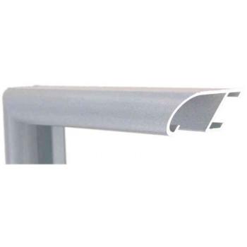 Алюминиевый багет серебро 89-312