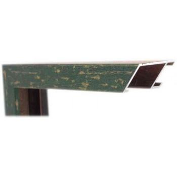 Алюминиевый багет зеленый М4-543