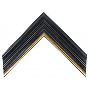 Деревянный багет Черный А-В110456