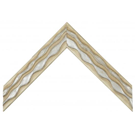 Деревянный багет Бежевый 060.44.058 в интернет-магазине ROSESTAR фото
