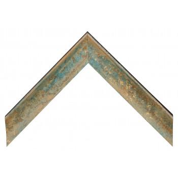 Деревянный багет Бирюзовый 089.54.016