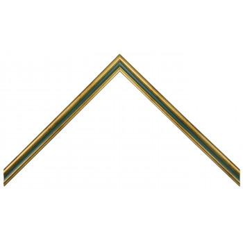 Деревянный багет Зеленый 115.21.047