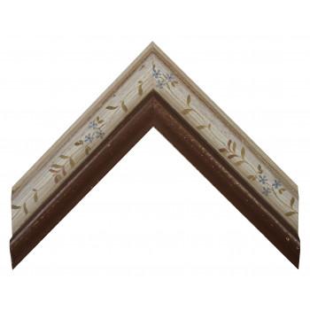 Деревянный багет Бордовый 11663342
