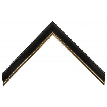 Деревянный багет Черный 13523245