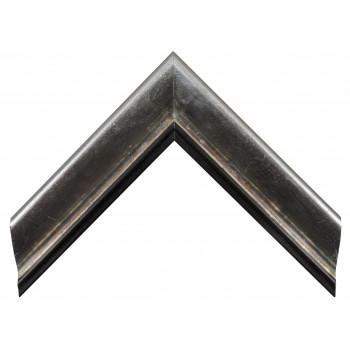 Деревянный багет Серебро 13553254