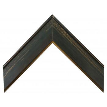 Деревянный багет Зеленый 15453047