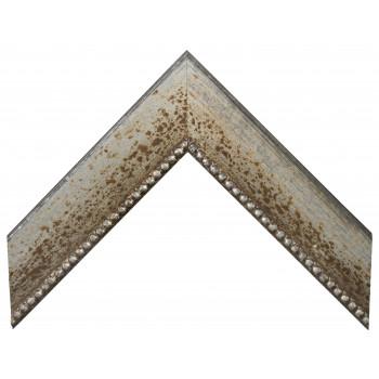 Деревянный багет Серебро 15763044