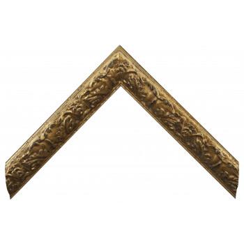 Деревянный багет Золото 26743043
