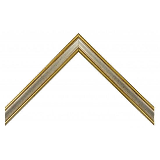 Деревянный багет Серебро 278.24.014 в интернет-магазине ROSESTAR фото