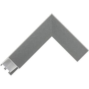 Алюминиевый багет серое олово матовый 28-х17