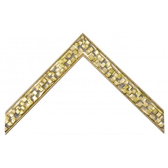 Деревянный багет Золото 281.61.060 в интернет-магазине ROSESTAR фото