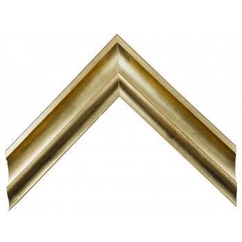 Деревянный багет Золото 349.64.043