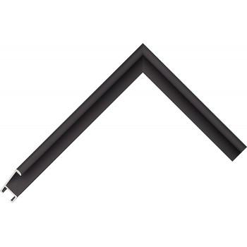 Алюминиевый багет черный 41-25