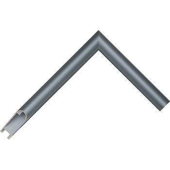 Алюминиевый багет голубое олово матовый 43-19