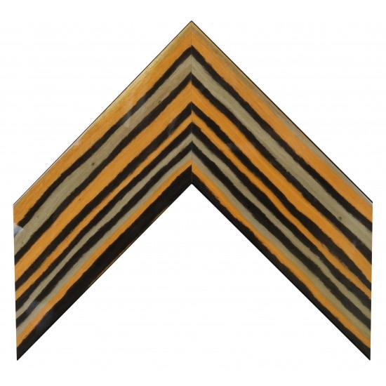 Деревянный багет Оранжевый 800.91.297 в интернет-магазине ROSESTAR фото