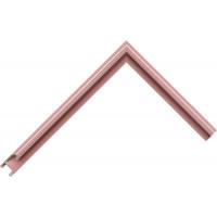 Алюминиевый багет темно-розовый блестящий 85-107