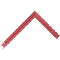 Алюминиевый багет темно-красный блестящий 85-116