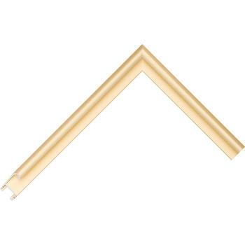 Алюминиевый багет золото матовый 85-14