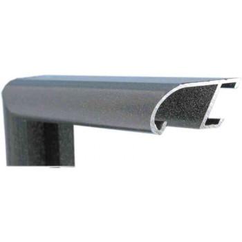 Алюминиевый багет черный мрамор 89-200