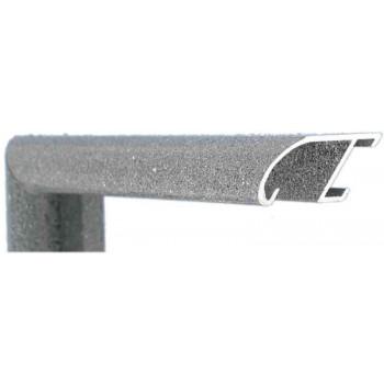 Алюминиевый багет серый гранит 89-210