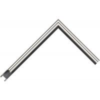 Алюминиевый багет серебро блестящий 915-11
