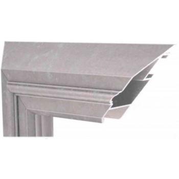 Алюминиевый багет графит патина М1-500