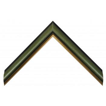 Пластиковый багет Зеленый V3-GW02G