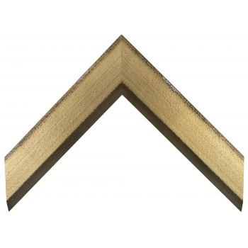 Деревянный багет Золото А-В110383