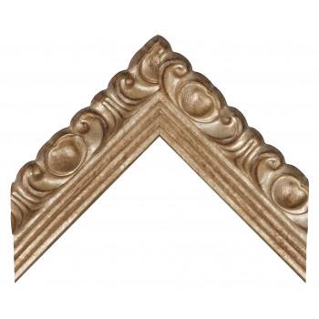 Деревянный багет Серебро 0055/CA52