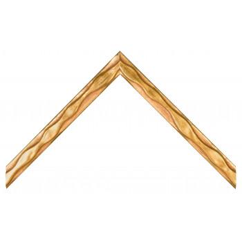 Деревянный багет Золото 065.34.043