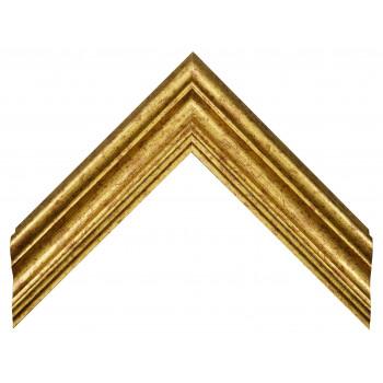 Деревянный багет Золото 069.64.031