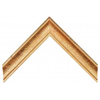 Деревянный багет Золото 089.64.043