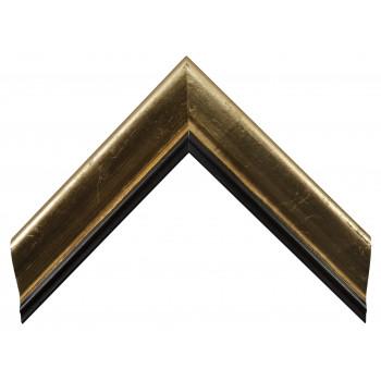 Деревянный багет Золото 13553255