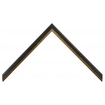 Деревянный багет Черный 15123005