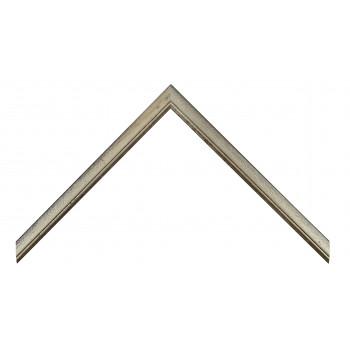 Деревянный багет Серебро 15123054