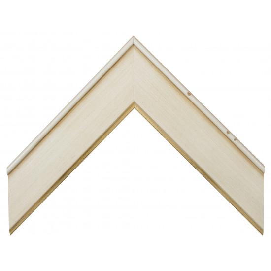 Деревянный багет Белый 15453051 в интернет-магазине ROSESTAR фото