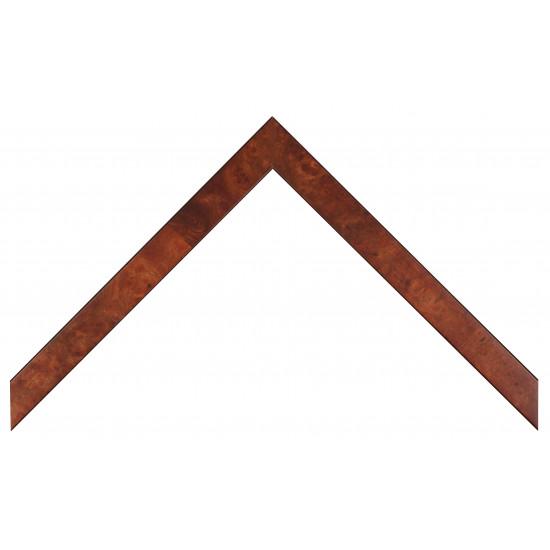 Деревянный багет Темно-коричневый 226.41.025 в интернет-магазине ROSESTAR фото