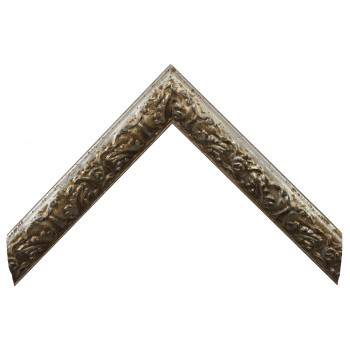 Деревянный багет Серебро 26743044